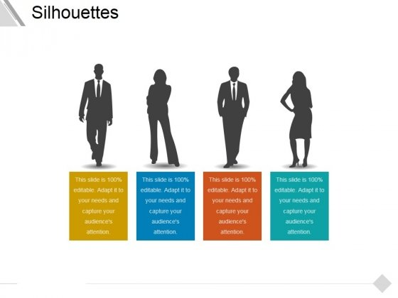 Silhouettes Ppt PowerPoint Presentation Pictures Graphics