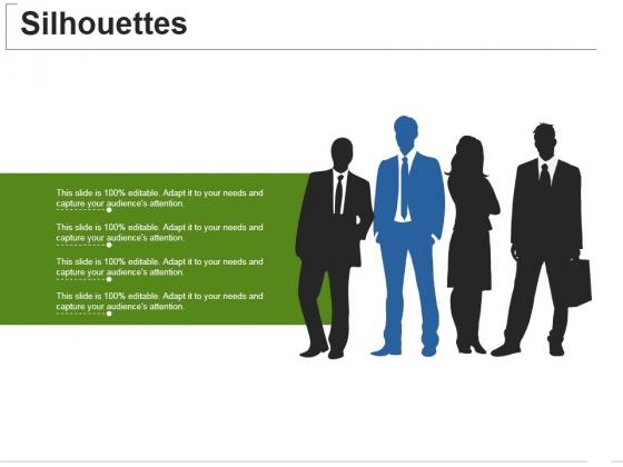 Silhouettes Ppt PowerPoint Presentation Portfolio Guide