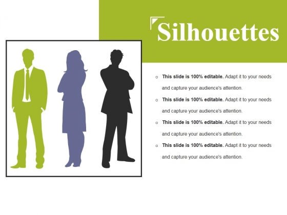 Silhouettes Ppt PowerPoint Presentation Portfolio Master Slide