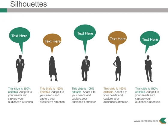 Silhouettes Ppt PowerPoint Presentation Show Images