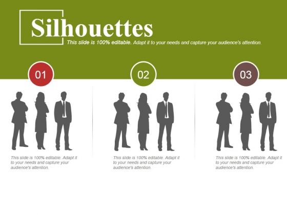 Silhouettes Ppt PowerPoint Presentation Slide