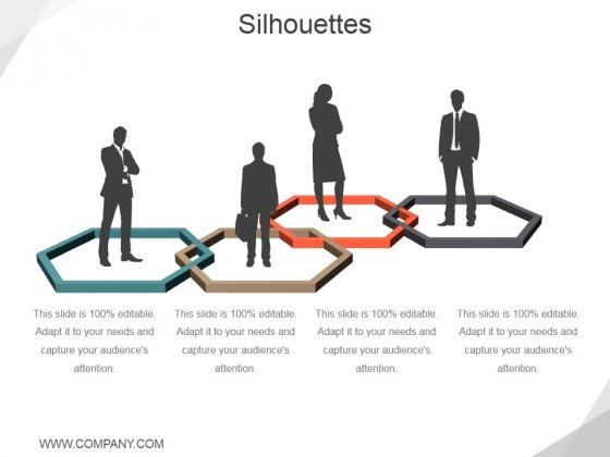 Silhouettes Ppt PowerPoint Presentation Slides Diagrams