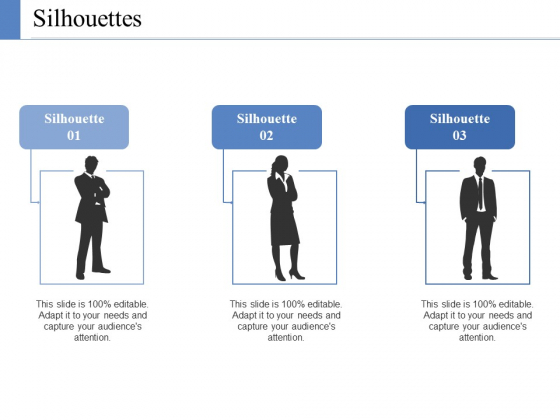 Silhouettes Ppt PowerPoint Presentation Slides Files