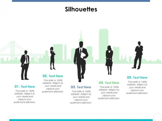 Silhouettes Ppt PowerPoint Presentation Slides Layouts
