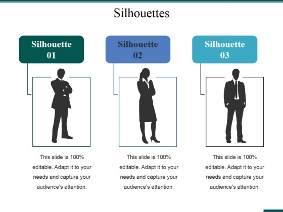 Silhouettes Ppt PowerPoint Presentation Styles Layouts