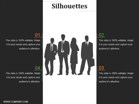 Silhouettes Ppt PowerPoint Presentation Summary Background Image