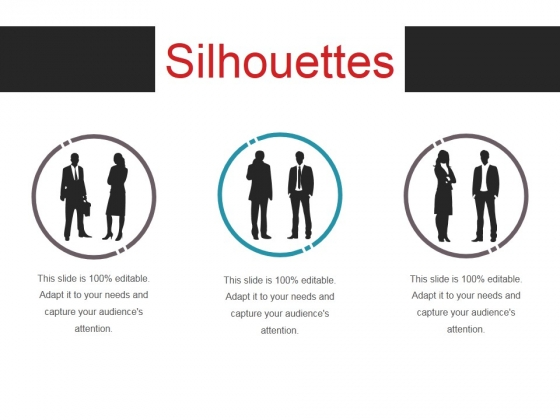 Silhouettes Ppt PowerPoint Presentation Summary Graphics Design
