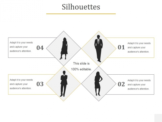 Silhouettes Ppt PowerPoint Presentation Summary Layouts