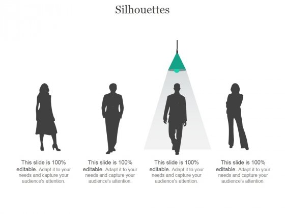 Silhouettes Ppt PowerPoint Presentation Topics
