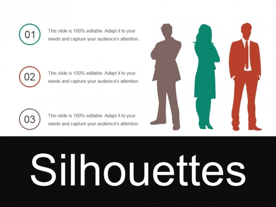 Silhouettes Ppt PowerPoint Presentation Visual Aids Example 2015