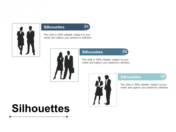 Silhouettes Strategy Planning Ppt PowerPoint Presentation Summary Background Images