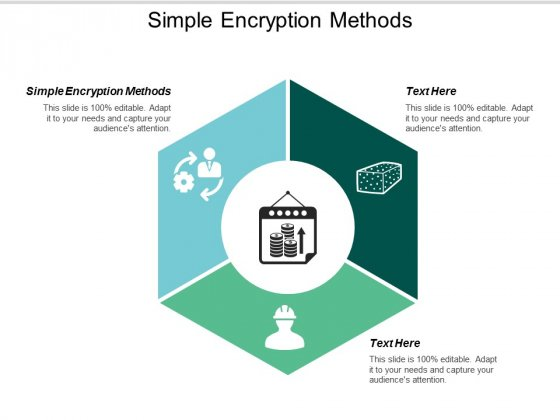 Simple Encryption Methods Ppt PowerPoint Presentation Model Files Cpb
