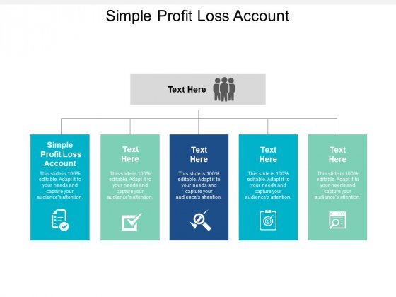 Simple Profit Loss Account Ppt PowerPoint Presentation Model Templates Cpb