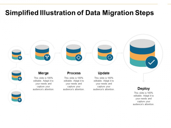 Simplified Illustration Of Data Migration Steps Ppt PowerPoint Presentation Summary Design Templates
