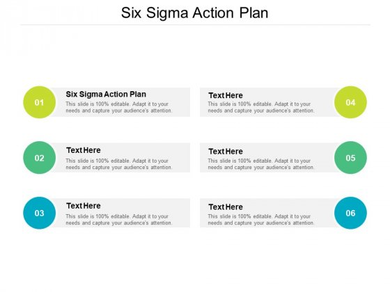 Six Sigma Action Plan Ppt PowerPoint Presentation Gallery Vector Cpb
