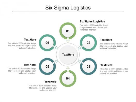 Six Sigma Logistics Ppt PowerPoint Presentation Slides Design Templates Cpb