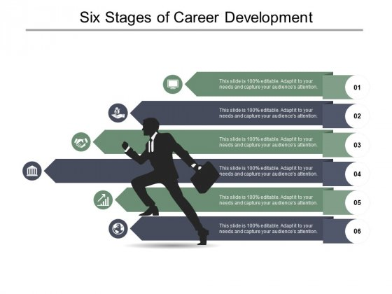 Six Stages Of Career Development Ppt PowerPoint Presentation Professional Designs