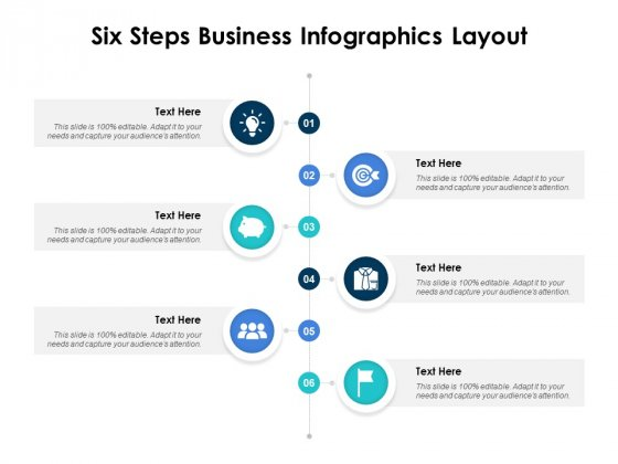 Six Steps Business Infographics Layout Ppt PowerPoint Presentation Styles Good