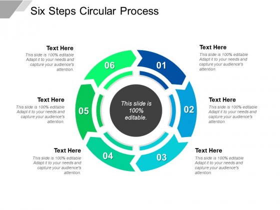Six Steps Circular Process Ppt PowerPoint Presentation Infographics Background Image