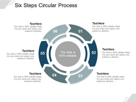 Six Steps Circular Process Ppt Powerpoint Presentation Portfolio