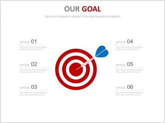 Six Steps For Setting Achievable Goals Powerpoint Slides