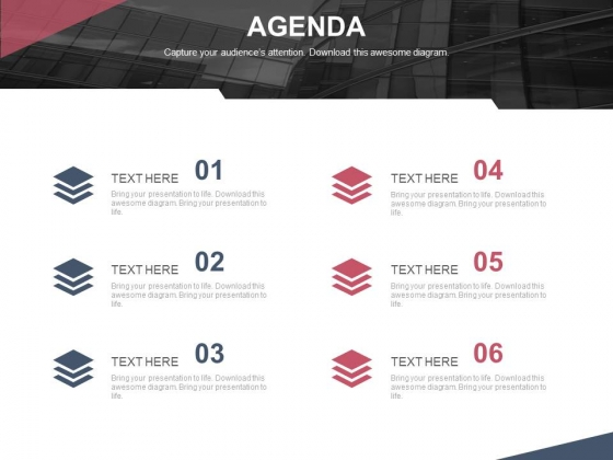 Six Steps Of Setting An Agenda Powerpoint Slides
