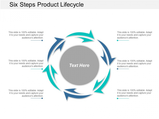 Six Steps Product Lifecycle Ppt Powerpoint Presentation Pictures Layout
