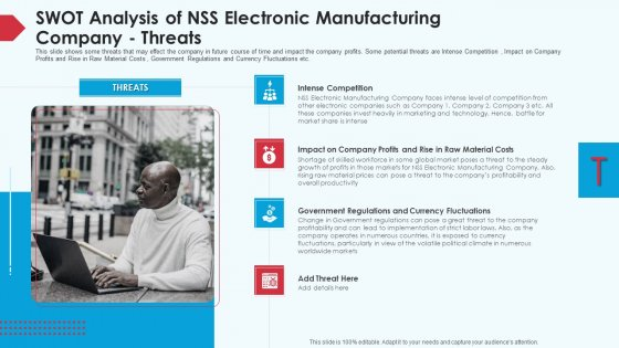 Skill_Shortage_In_A_Production_Firm_Case_Study_Solution_SWOT_Analysis_Of_NSS_Electronic_Manufacturing_Company_Threats_Graphics_PDF_Slide_1