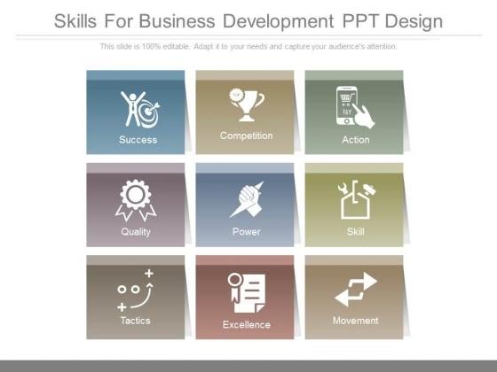 Skills For Business Development Ppt Design