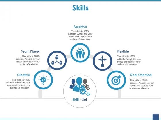 Skills Ppt PowerPoint Presentation Model Infographics