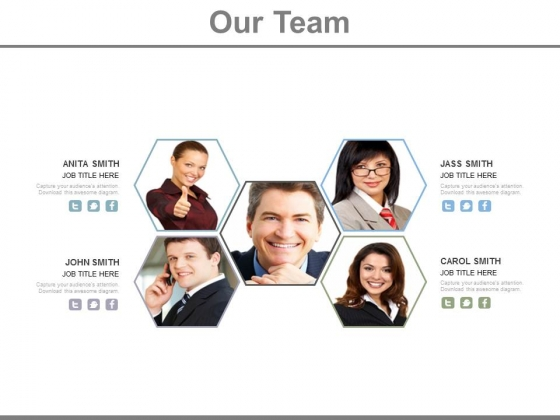 Slide Design For Teamwork Strategy Powerpoint Slides