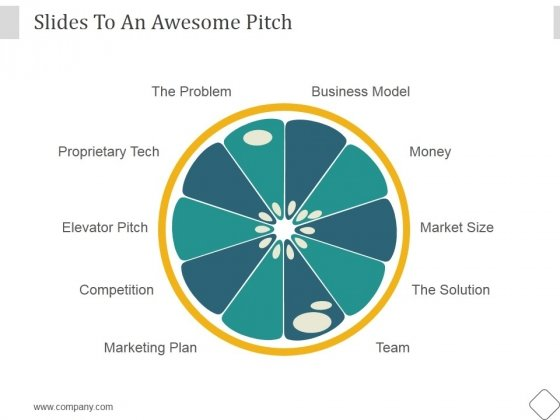 Slides To An Awesome Pitch Ppt PowerPoint Presentation Deck