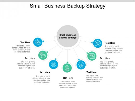 Small Business Backup Strategy Ppt PowerPoint Presentation Icon Professional Cpb Pdf