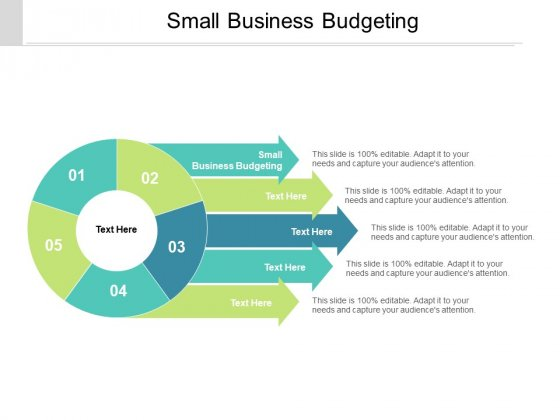 Small Business Budgeting Ppt PowerPoint Presentation Gallery Design Inspiration Cpb Pdf