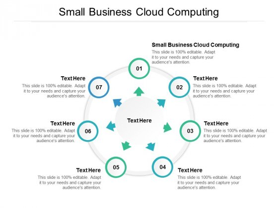 Small Business Cloud Computing Ppt PowerPoint Presentation Infographics Graphics Tutorials Cpb