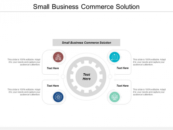 Small Business Commerce Solution Ppt PowerPoint Presentation Styles Background Image Cpb
