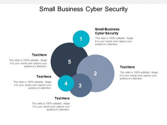 Small Business Cyber Security Ppt PowerPoint Presentation Outline Design Templates Cpb