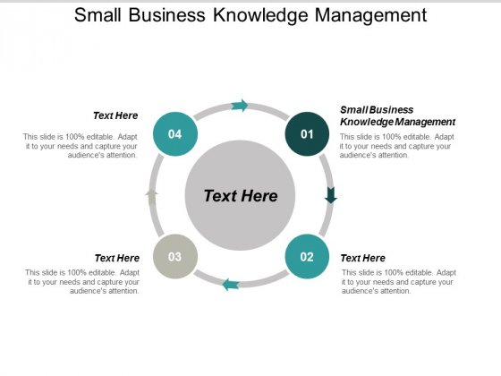 Small Business Knowledge Management Ppt PowerPoint Presentation Icon Design Templates Cpb