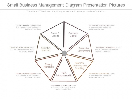 Small Business Management Diagram Presentation Pictures