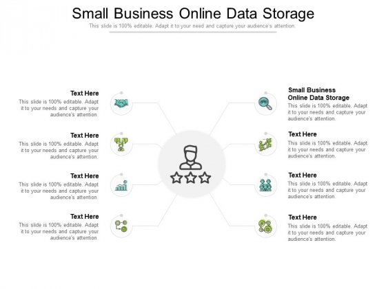Small Business Online Data Storage Ppt PowerPoint Presentation Pictures Influencers Cpb Pdf