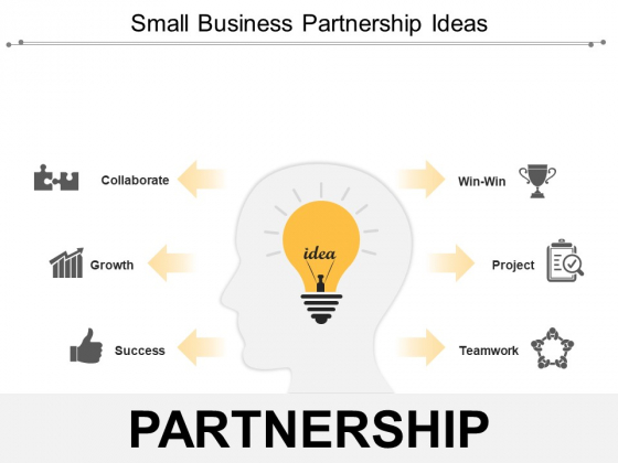 Small Business Partnership Ideas Ppt PowerPoint Presentation Professional Ideas