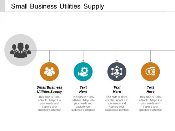 Small Business Utilities Supply Ppt PowerPoint Presentation File Icons Cpb