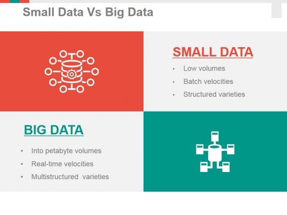 small data vs big data ppt powerpoint presentation infographics
