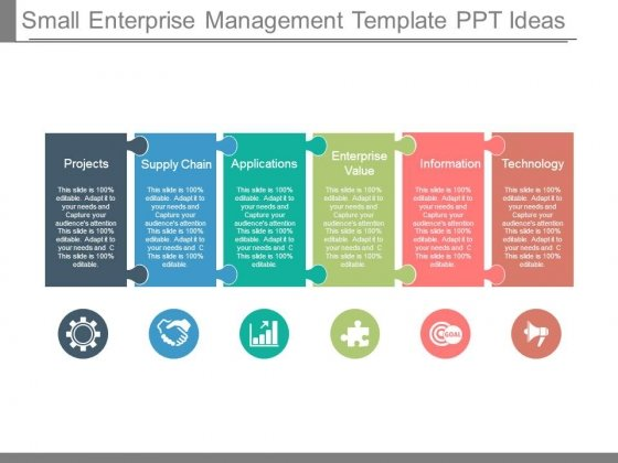 Small Enterprise Management Template Ppt Ideas