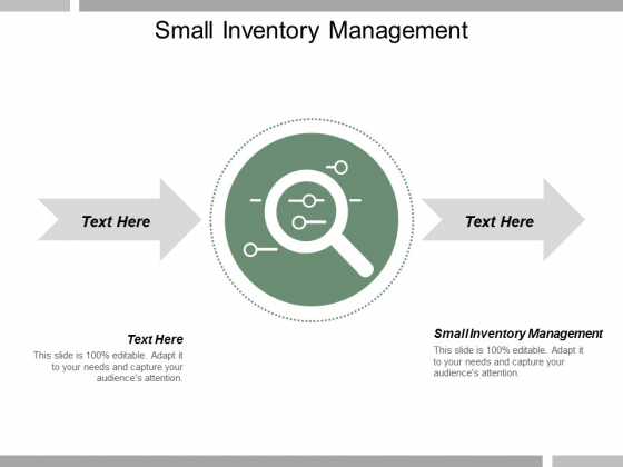 Small Inventory Management Ppt Powerpoint Presentation Layouts Skills Cpb