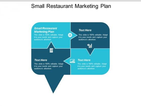 Small Restaurant Marketing Plan Ppt Powerpoint Presentation Professional Show Cpb