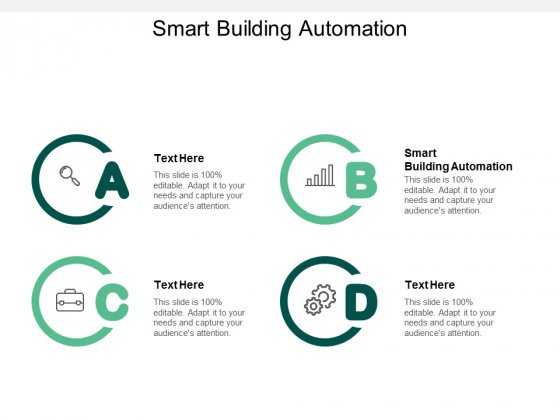 Smart Building Automation Ppt PowerPoint Presentation Professional Maker Cpb