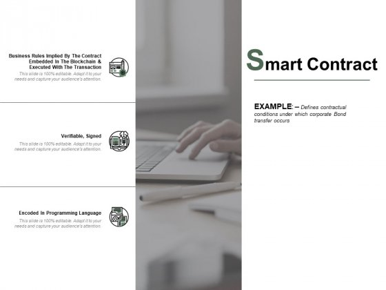 Smart Contract Ppt PowerPoint Presentation Infographics Background Images