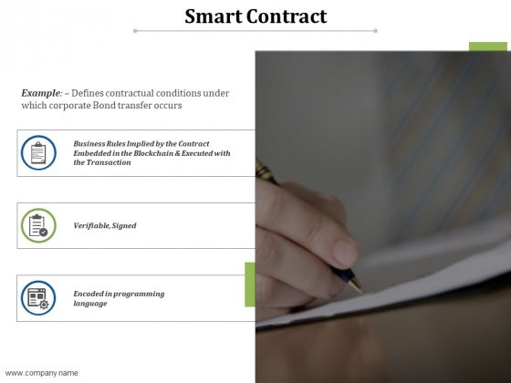Smart Contract Ppt PowerPoint Presentation Inspiration Elements
