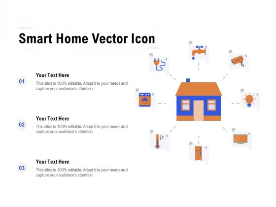Smart Home Vector Icon Ppt Pictures Graphics PDF